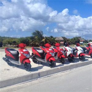 Scooter -Honda Dio, 2pax.
